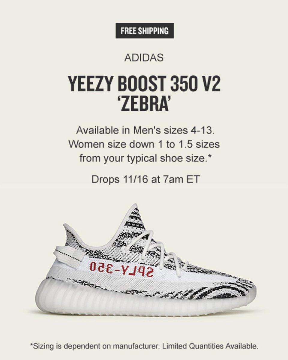 adidas yeezy zebra release 2018