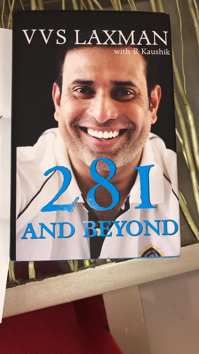 Thank you for the book @VVSLaxman281. Looking forward to the chapters inside.