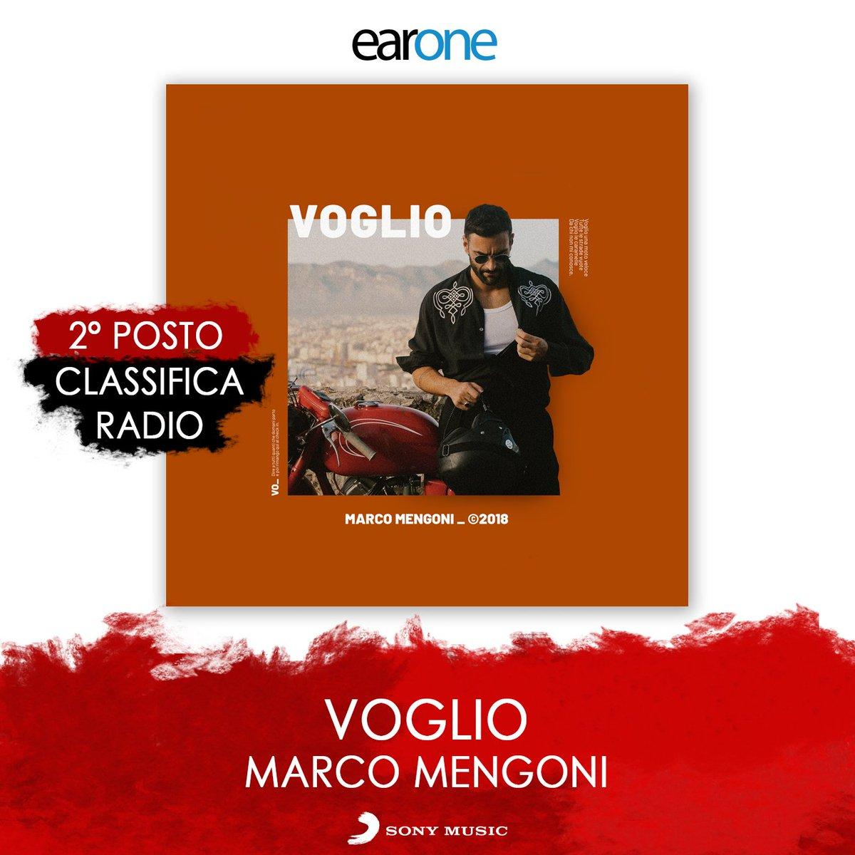 Voglio una moto veloce 🏍️ tutte le strade vuote 💥 #Voglio di @mengonimarco è la seconda canzone più trasmessa dalle radio 👏👏