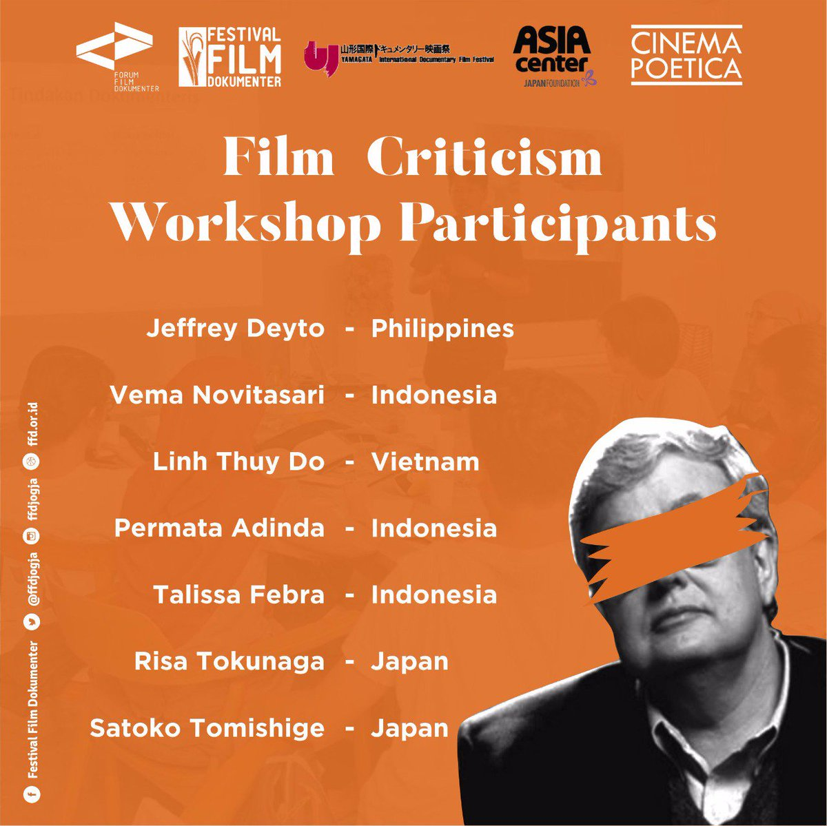 Cinema Poetica On Twitter 70 Submissions From Southeast Asia And Japan Hard Work During The Selection Process Congrats For All The Participants See You In Film Criticism Workshop Ffdjogja Https T Co Lnvh0ts1mg