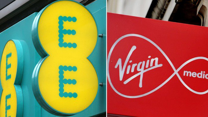 Virgin Media and EE fined £13.3m for handing 500,000 customers 'excessive' exit fees https://t.co/RcqKvMaKAm