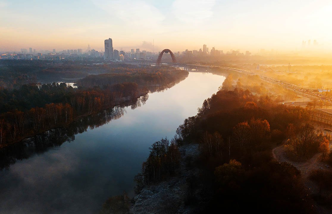 In Photos: A journey by drone along the Moscow river  https://t.co/Q3PK6Ux0Wu