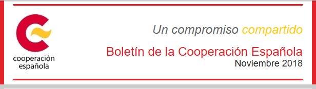 Mancheta Boletín Informativo de la Cooperación Española