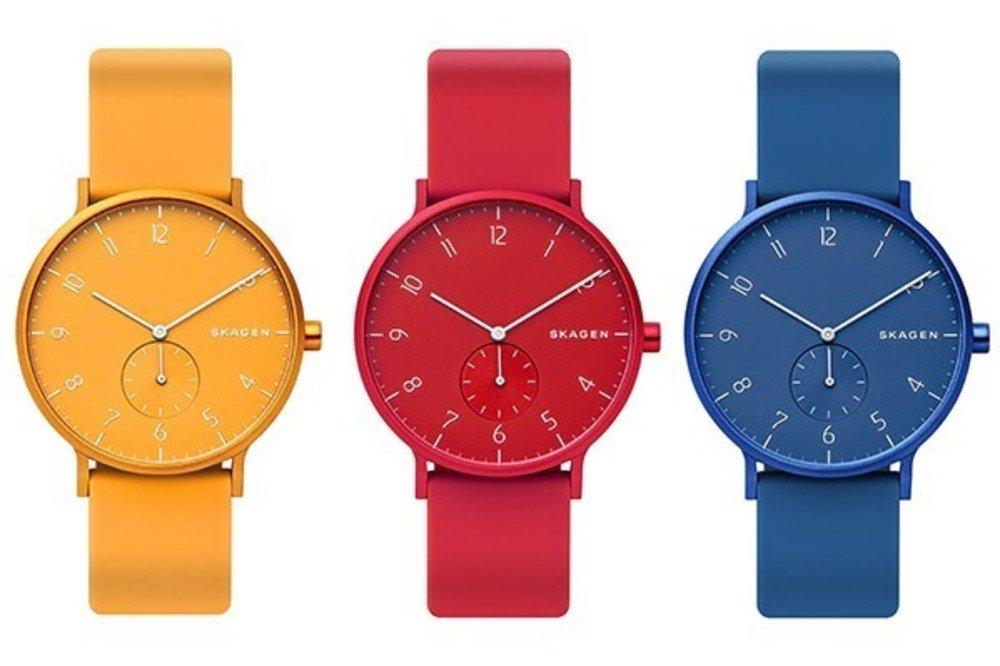 スカーゲンの新作腕時計「AAREN KULØR」デンマーク港町のカラフルな街並みに着想 - https://t.co/gE46nH6svK