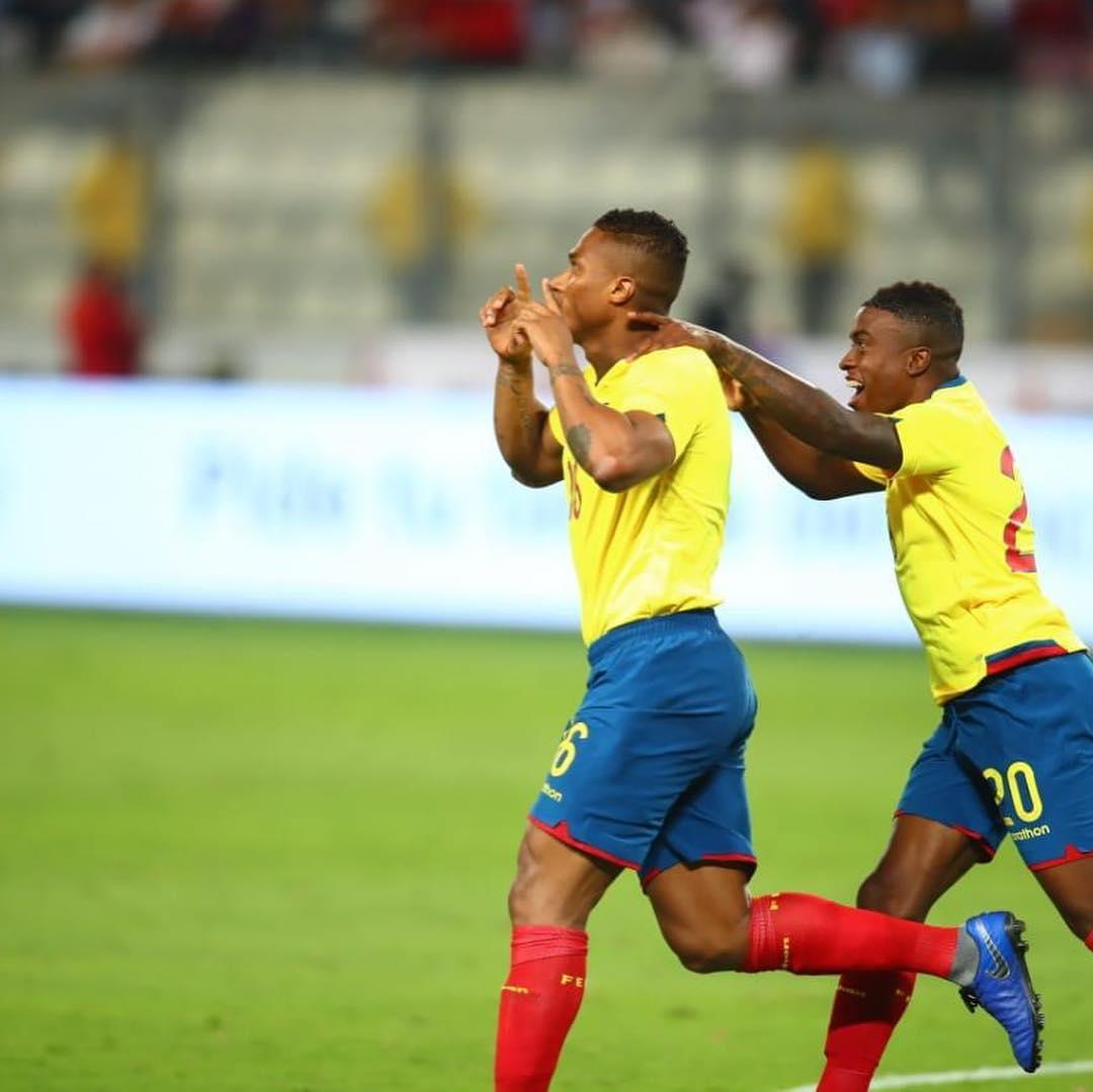.@Anto_V25 scored for Ecuador as they beat Peru 2-0 in a friendly this morning! 🙌🇪🇨  📷IG: AntonioValencia2525