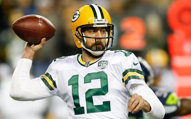 Check out these two 'big-time' throws from Green Bay Packers quarterback Aaron Rodgers.  👉 https://t.co/j51iw5HRcK   Unfortunately for him. they weren't enough to beat play-off rivals the Seattle Seahawks.