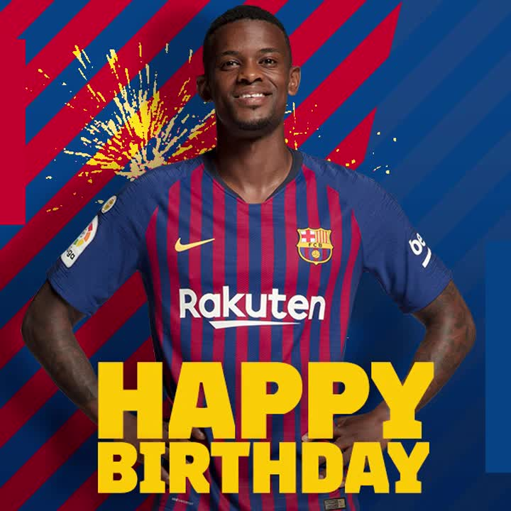 🎉 A busy week for birthdays ! Today @_nelsonsemedo_ is 2⃣5⃣ !👏 👌 Enjoy your day, Nelson! 🎊