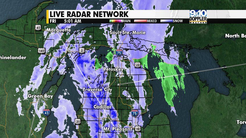 9 10 News On Twitter Take Your Time Morning Commutes This Northern Michigan CHECK OUT Forecast And What To Expect Heading