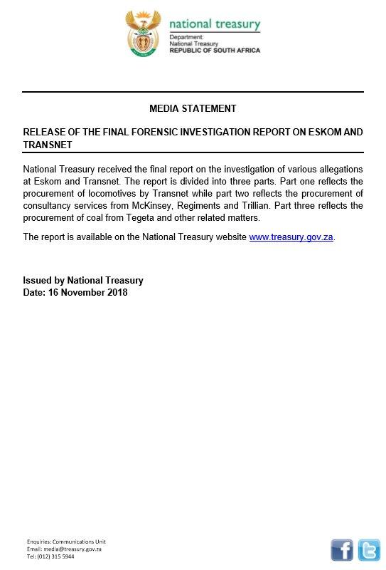 National Treasury on Twitter: