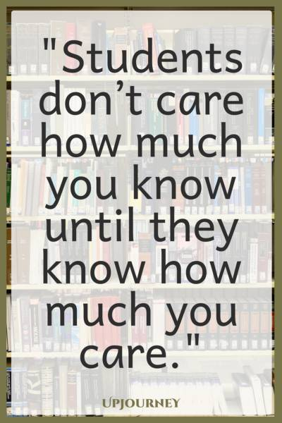 Do your students know you care? Your answer matters.