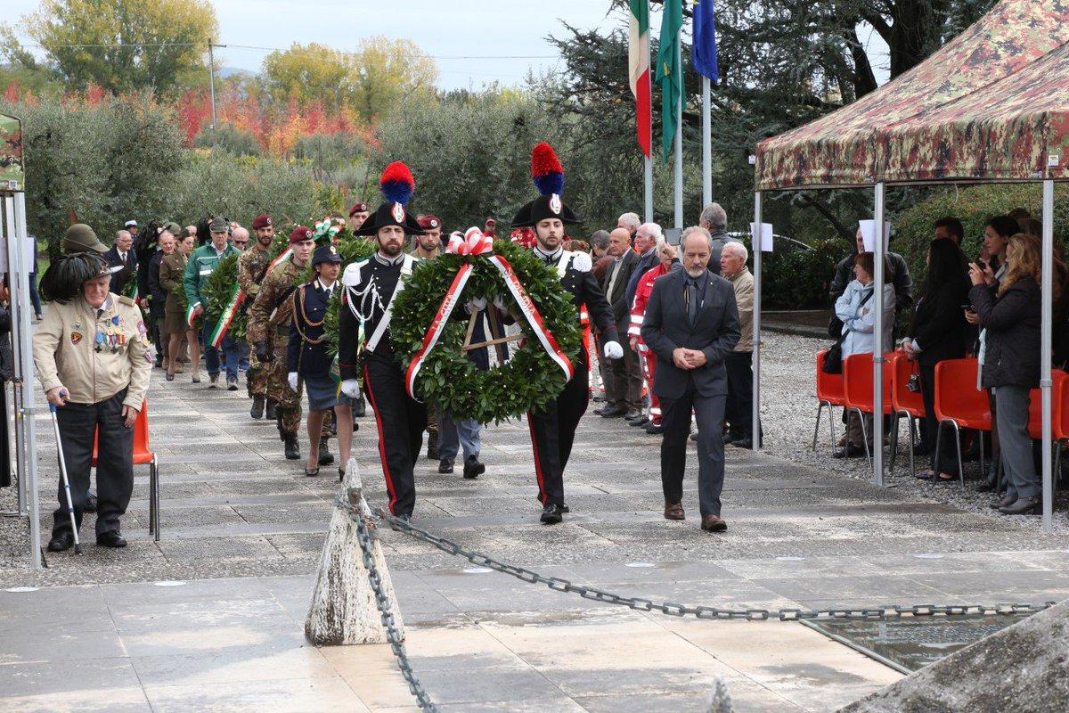 Em Pistoia, na Itália, solenidade homenageia heróis da Força Expedicionária Brasileira que lutaram bravamente https://t.co/5xuMoDlBJ5