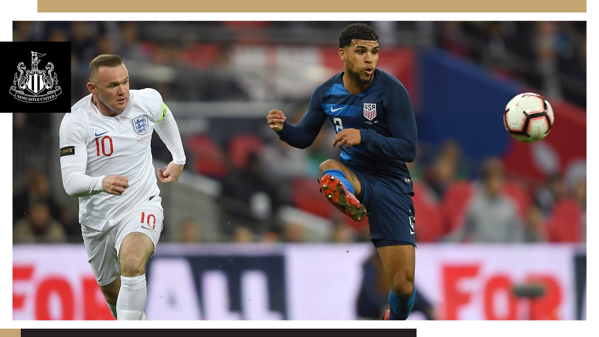 🇺🇸 DeAndre Yedlin was in action at Wembley on Thursday, as the USA were beaten by England. 👉🏽 nufc.co.uk/news/latest-ne… #NUFC
