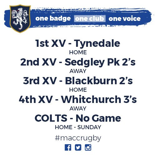 test Twitter Media - Here are the matches for this weekend! Who's excited!? #MRUFC 🏉 https://t.co/PI6am7NPc8
