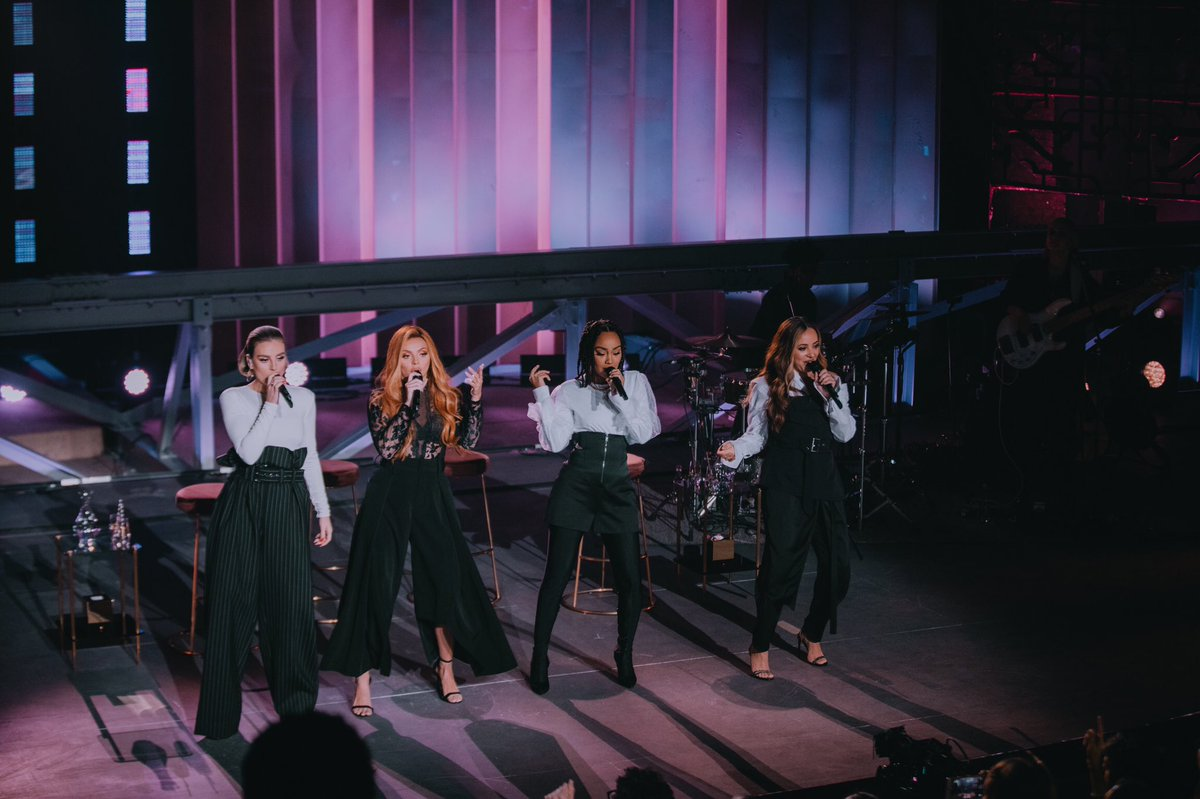 Who's got their copy of #LM5? Make sure you check it out on @AppleMusic and if you missed #LittleMixLive, you can watch it too! https://t.co/iZYvm4yImy