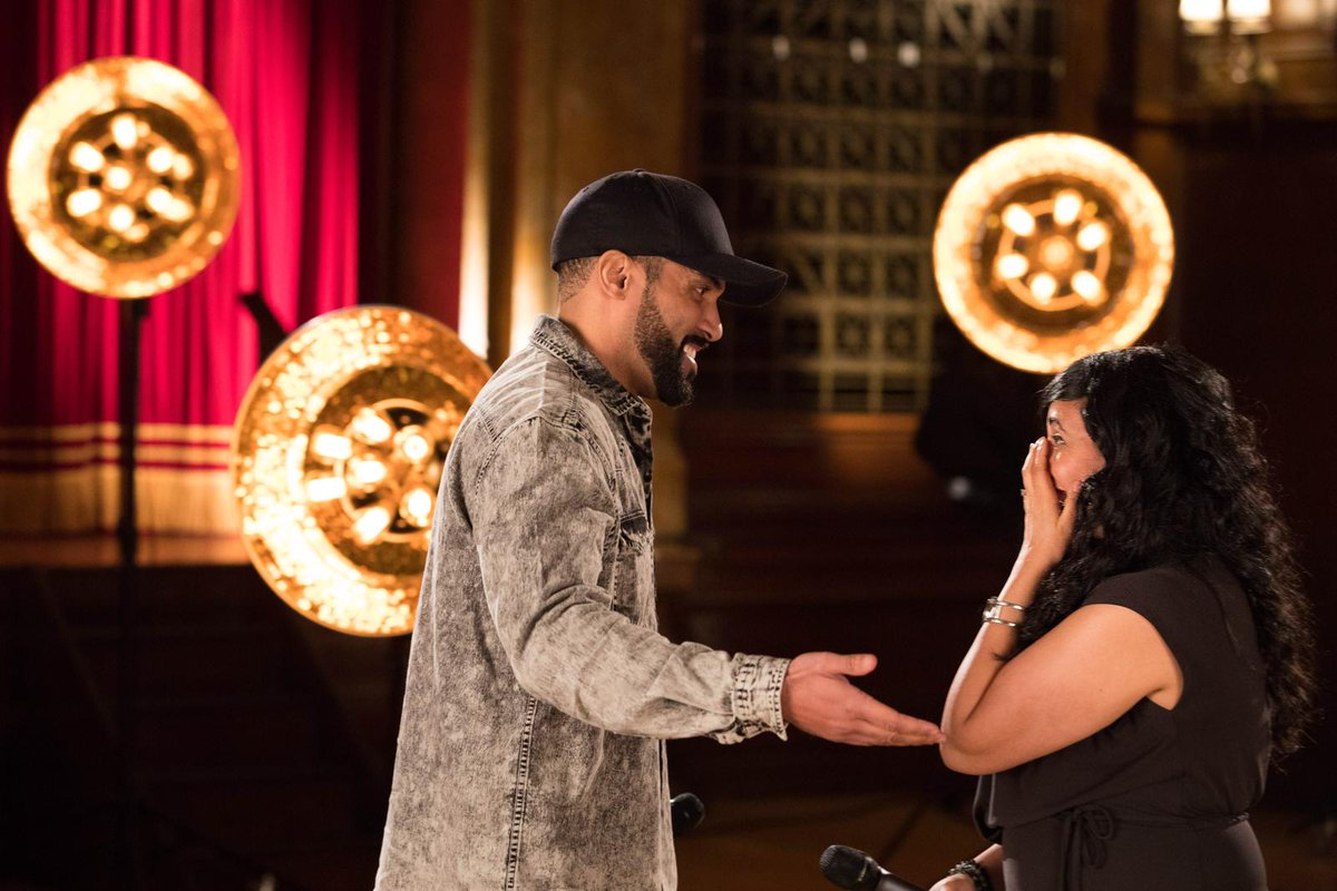 Amazing to be part of @BBCCiN again this year! Check out what happened when I surprised one of the amazing project workers tonight from 7:30pm @BBCOne #CiN ❤🙏🏽👀 https://t.co/uUBXjncoNy