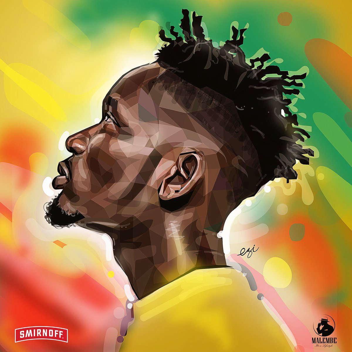My tribute to @mreazi. A #vector art by yours truly @eziwear. The Eazi and Ezi piece. S/o to @MalembeLife @SmirnoffUganda and @SkyzHotel. #beEzi<br>http://pic.twitter.com/ByF5PagUCu