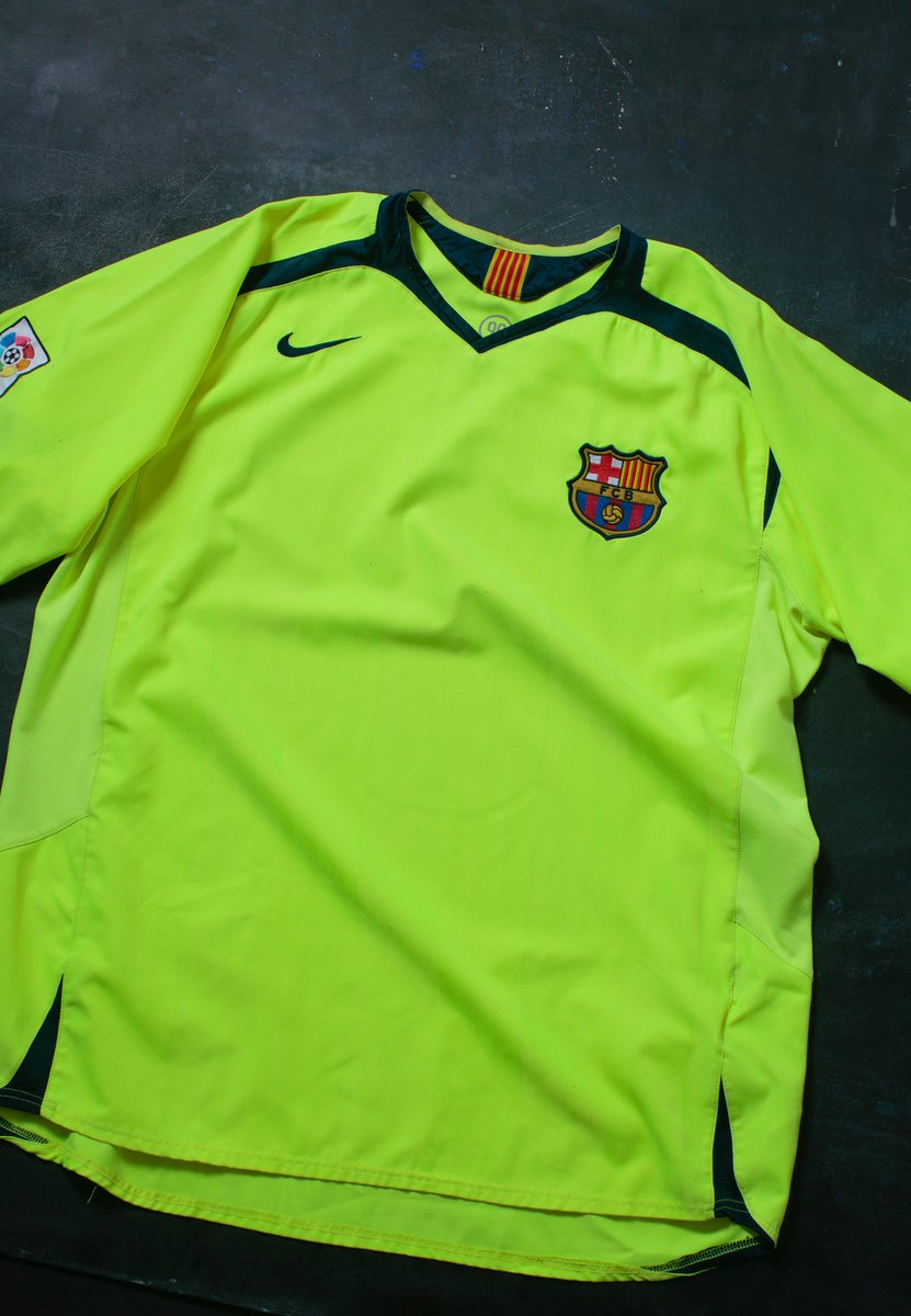 5074c2c7678 th Jersey  The 2006-07 Barcelona home jersey. The first time ever that  Barcelona had a jersey sponsor.  WorldSoccerShoppic.twitter.com 1iFlzzKUEe