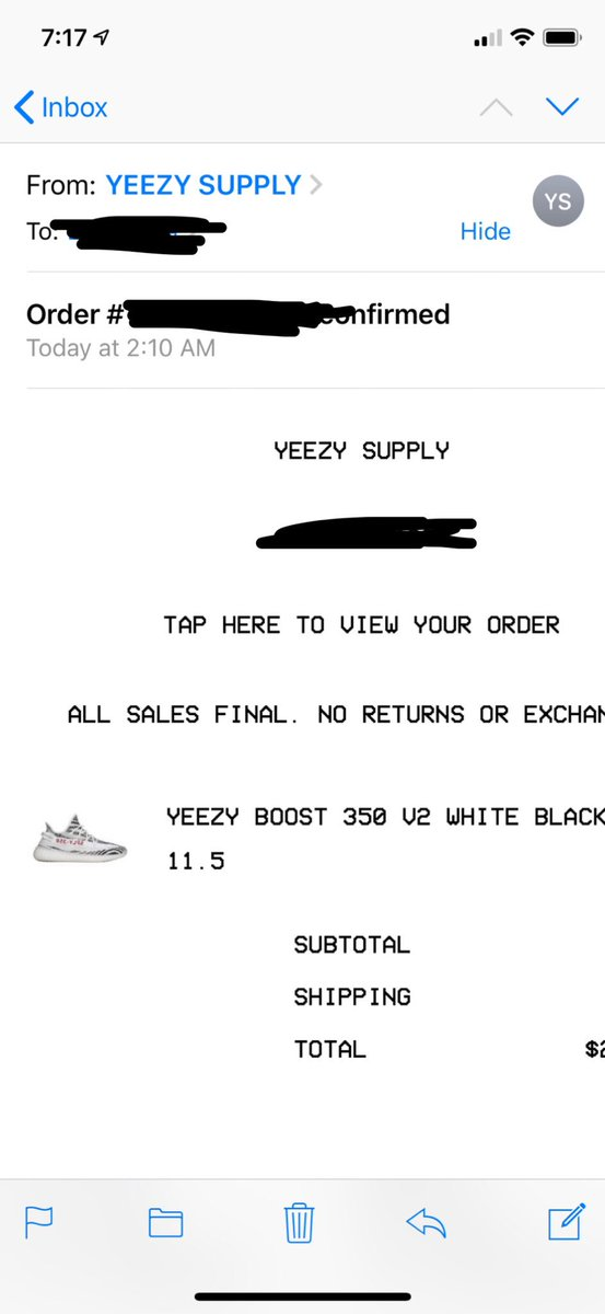 Shoutout to the plug @theyeezymafia #Securethebag💼