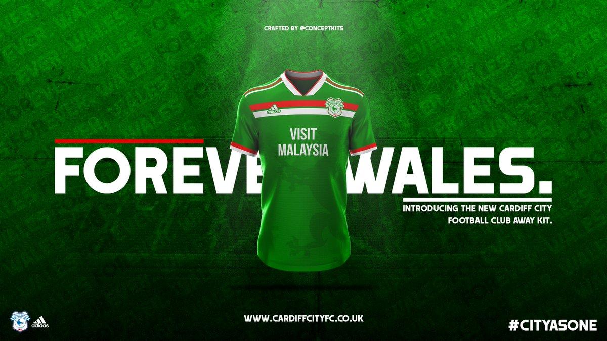 Concept Kits On Twitter Cardiff City Football Club Away Kit
