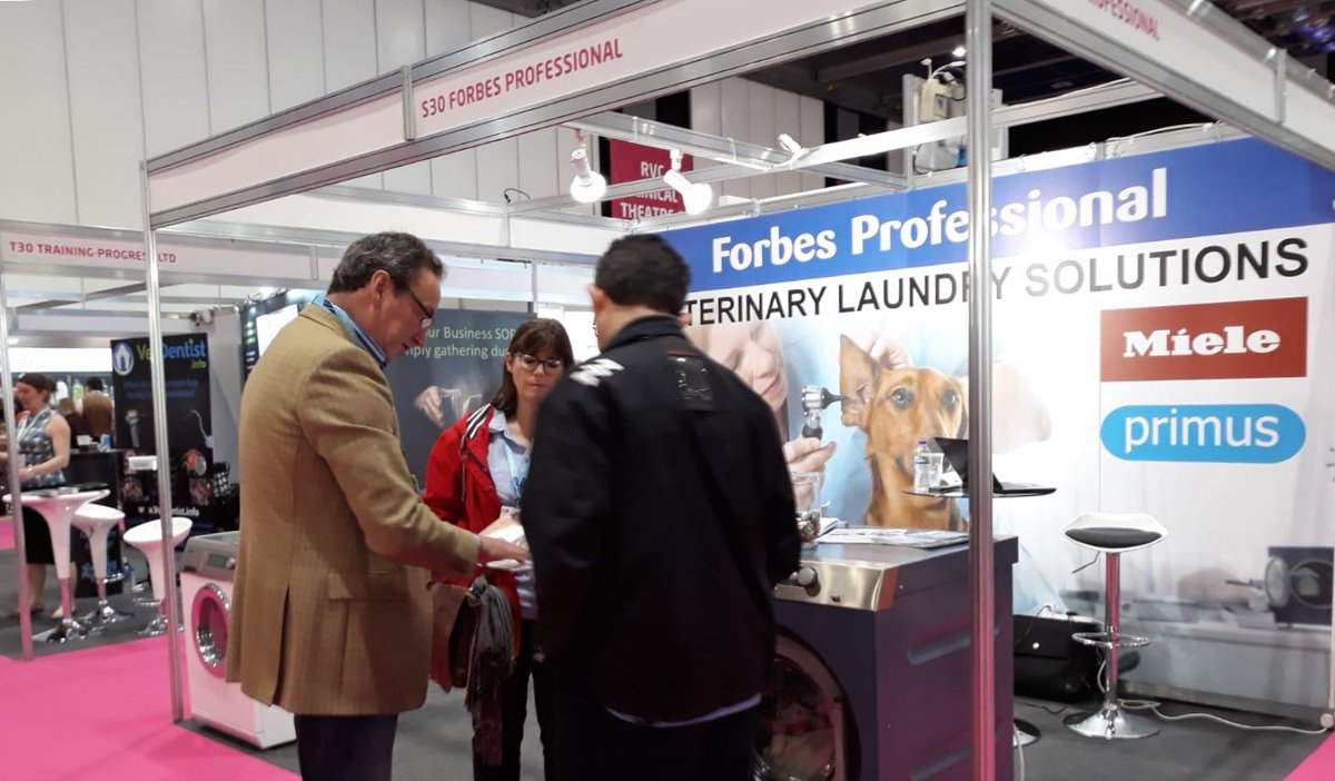 Come and visit us at Stand S30 @VetShow. We deliver WRAS compliant commercial #laundry solutions to veterinary clinics across the UK. #VetShow @ExCeLLondon