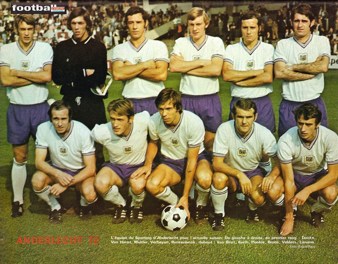RT @OldFootball11: #Anderlecht (1971/72) #RSCA https://t.co/wmzpxJ3bJD