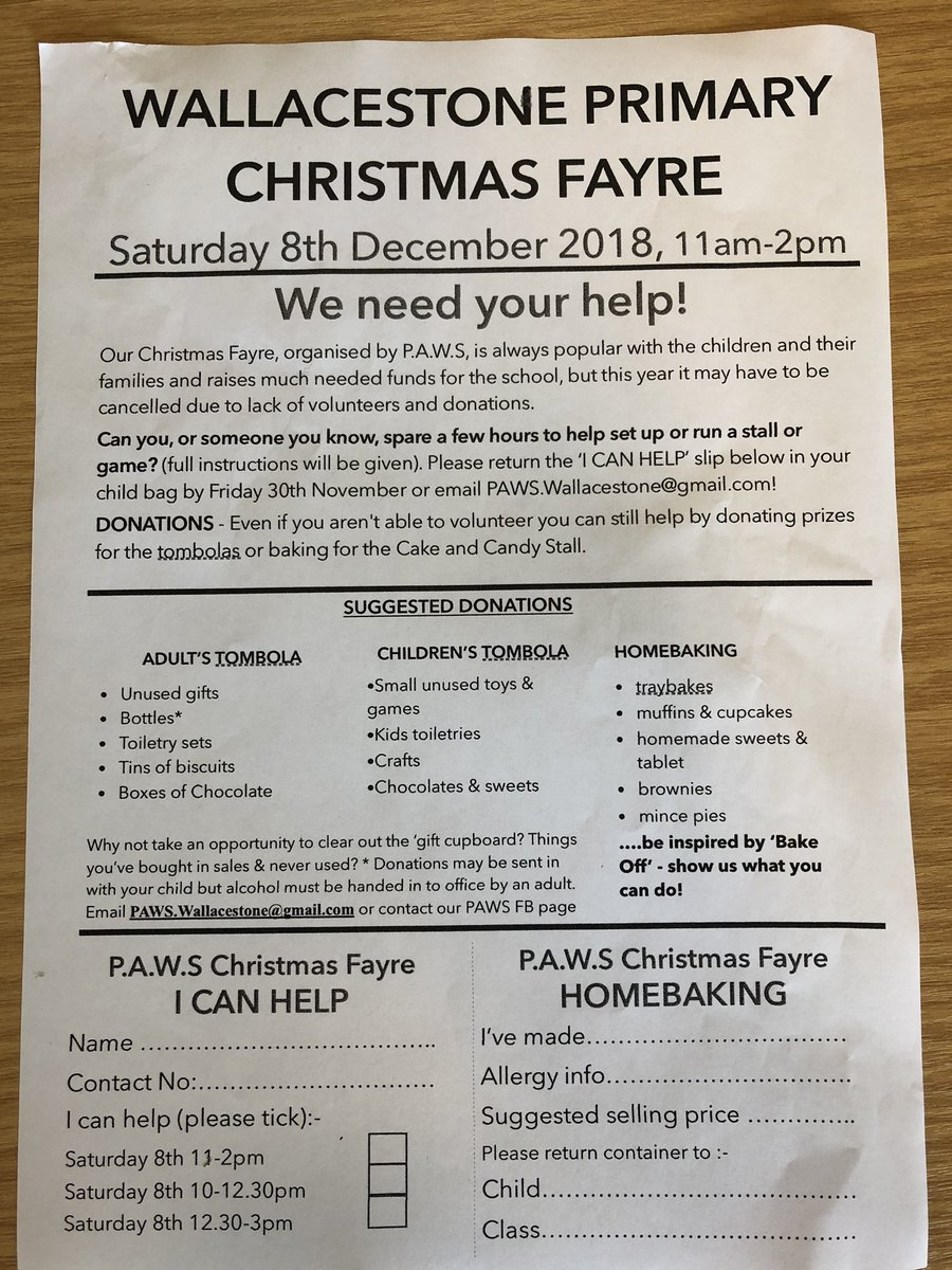 Wallacestone Ps On Twitter Letter From Paws Wps About Christmas