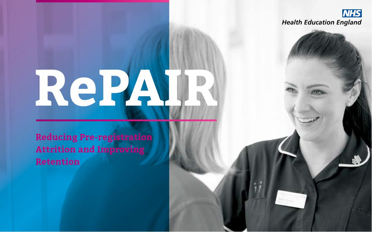 The RePAIR toolkit is aimed at all those involved in the education, training and supervision of pre-registration healthcare students and those who are newly qualified.  Take a look at our website: https://t.co/nfzMoXrjMk #RePAIR