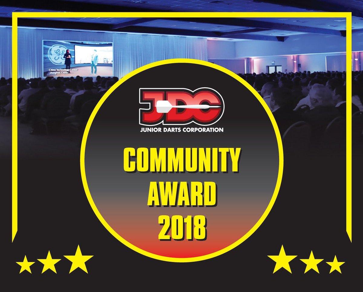 - ANNOUNCEMENT- JDC launches Community Award - Detail, juniordarts.com