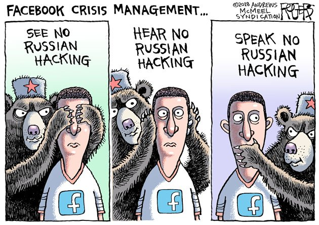 As much as we want to believe that Facebook has our backs when it comes to rooting out conspiracies, fake news and Russian trolls, they don&#39;t, according to this damning report in the New York Times. #Facebook #Zuckerberg #Russian #Hacking #socialmedia<br>http://pic.twitter.com/M6oPL2IlQD