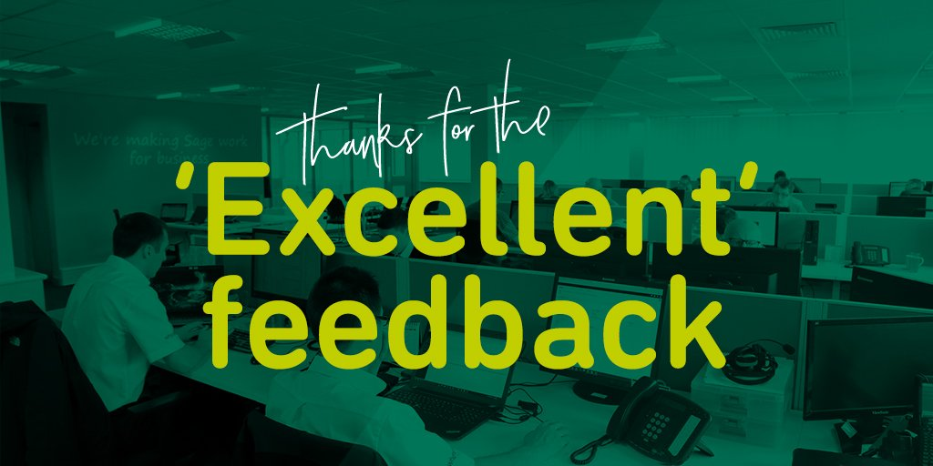 """test Twitter Media - """"Quickly resolved and good to have an instruction that can be printed and followed"""" Thank you to Deirdre at KHL for this 'Excellent' #CustomerFeedback following John's recent #Sage200 support.  #CustomerService #Sage200Extra #Sage https://t.co/i3FKYLPCJl"""