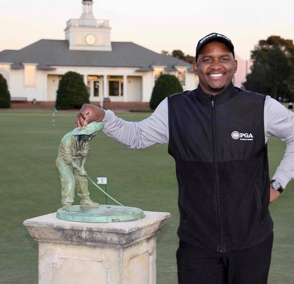 Hi! I'm Telvin Walker, Sunny Harris Hutchinson PGA WORKS Fellow for @CarolinasPGA. Golf has opened many doors for me in my life and most importantly it has changed my life for the better! Being a #PGAWORKS Fellow is the greatest thing that could have ever happened to me!