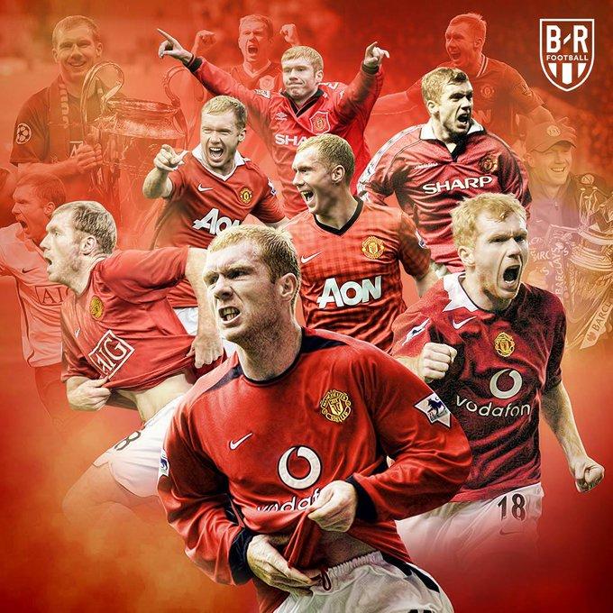 Premier League           Fa Cup   Champions League  Happy birthday to Manchester United legend Paul Scholes
