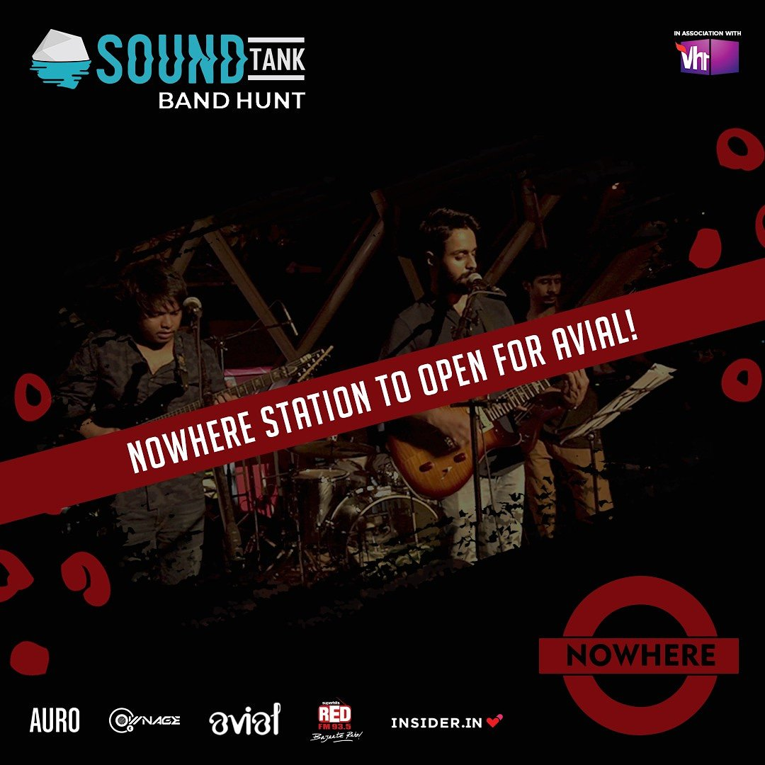 Nowhere Station to open for @avialofficial at @aurokitchenbar on 28th of Nov!  Buy your tickets now: https://bit.ly/2IJfSCW  #thefutureislive #livemusic #Indierock #alternative #delhigigs #Delhi #music #avialpic.twitter.com/WM4fCcWf3F