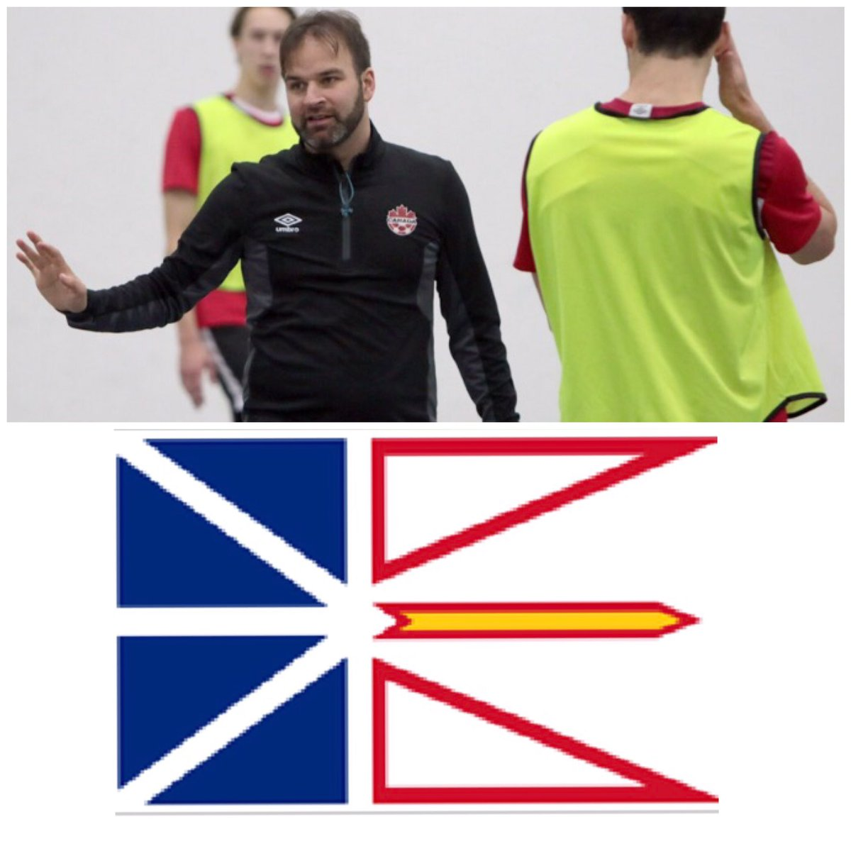 Beginning of another trip for me! One more province to join the futsal world and help build a long lasting program. ID CAMPs and coaches clinics are on the menu for the next 3 days! #newfoundland #eastcoast #futsalisnow