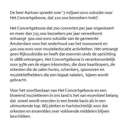 Het Concertgebouw Concertgebouw Twitter