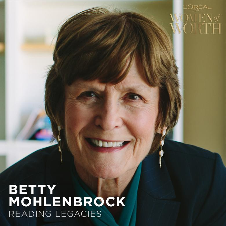 To vote for Betty Mohlenbrock to become the 2018 Women of Worth National Honoree, like & retweet this post to help her win $35K for her cause! Read more about Betty: