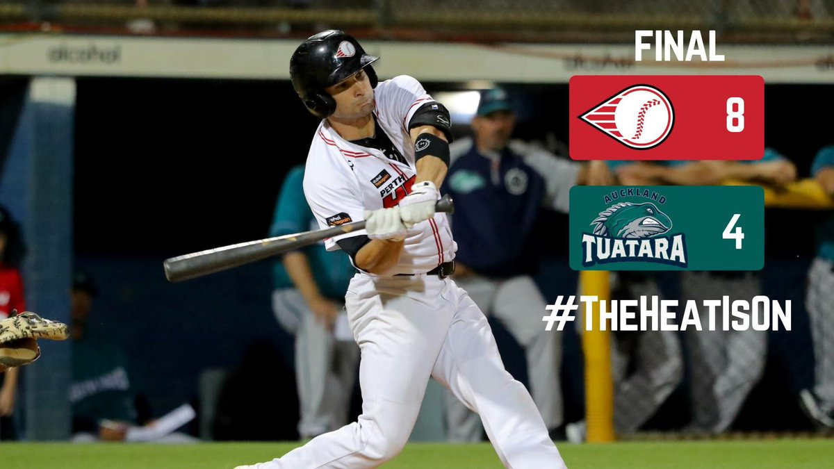HEAT WIN ⚾🔥  Hall drives in three runs and Lamby records a six-out save!  #TheHeatIsOn