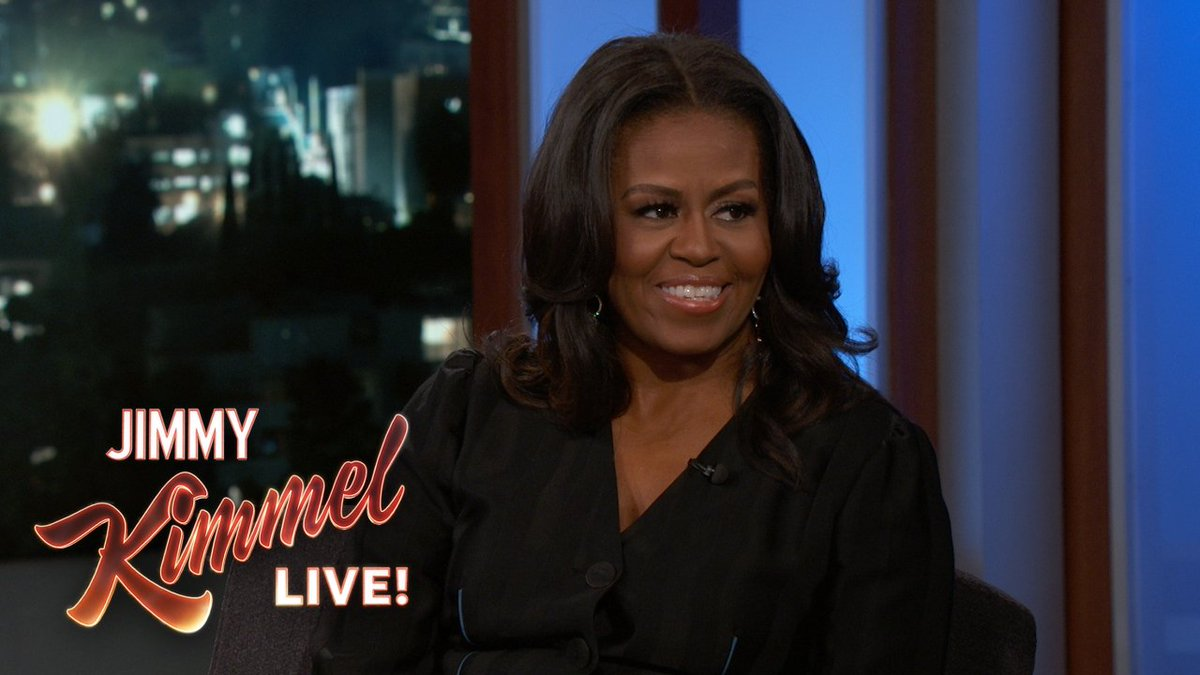 .@MichelleObama & my favorite @RealDonaldTrump game, 'What would've happened if Obama had done that?'
