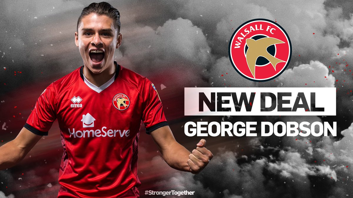 Captain fantastic! 💪 ✍️ #Saddlers skipper George Dobson has signed a one-year contract extension! Full story 👉 bit.ly/2Bb0QUx