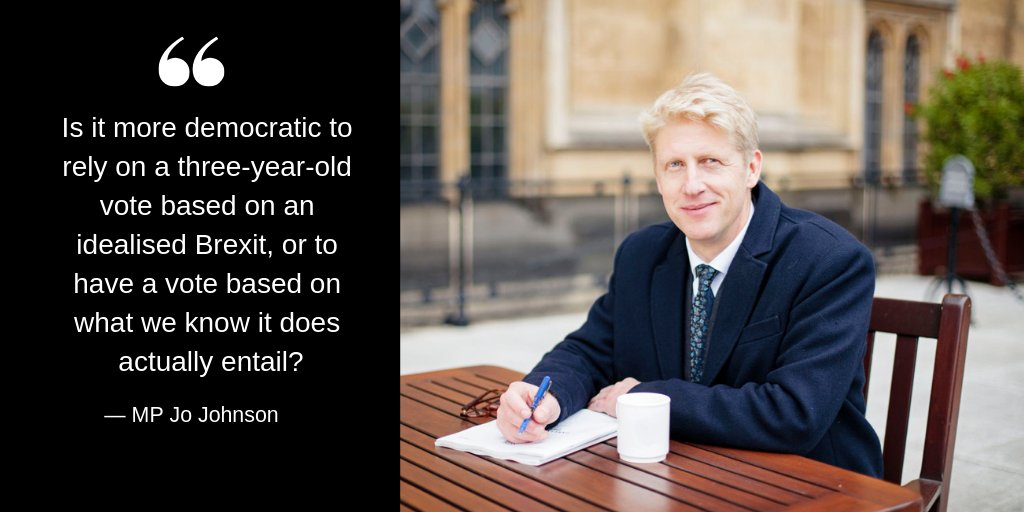 MP Jo Johnson: my inside story of Brexit and where it all went wrong https://t.co/xsGFFv0dhn https://t.co/yxgoGVwk4U