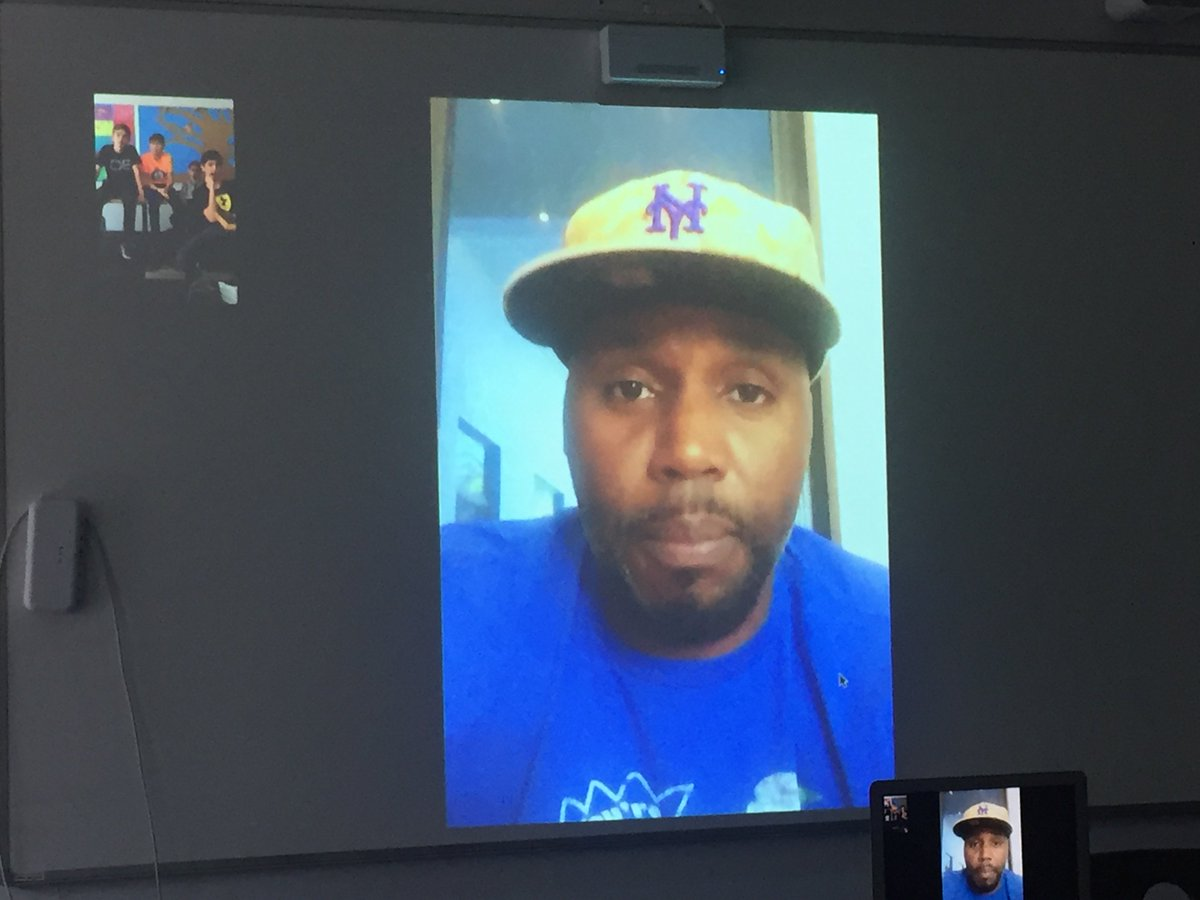 Thank you so much @CliffFloyd30 for FaceTiming with my high school&#39;s Sabermetrics @sabr club today! Awesome to hear your insight on playing with David Wright, your career with the Expos, your favorite coach, and much more! <br>http://pic.twitter.com/8jUm2rKuTc