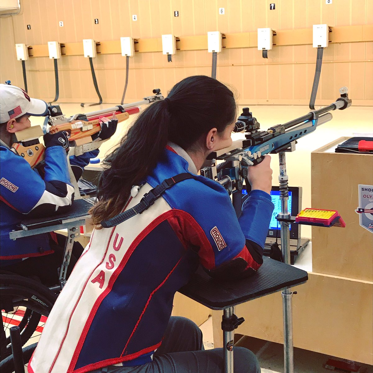 This last week I have spent countless hours on the range with my teammates during this month's Paralympic camp. I've made position changes, learned about upcoming changes within our program, and buckled down for our upcoming Selection Match. #GoBigOrGoHome #RiseAndGrind<br>http://pic.twitter.com/vI80bo67fh