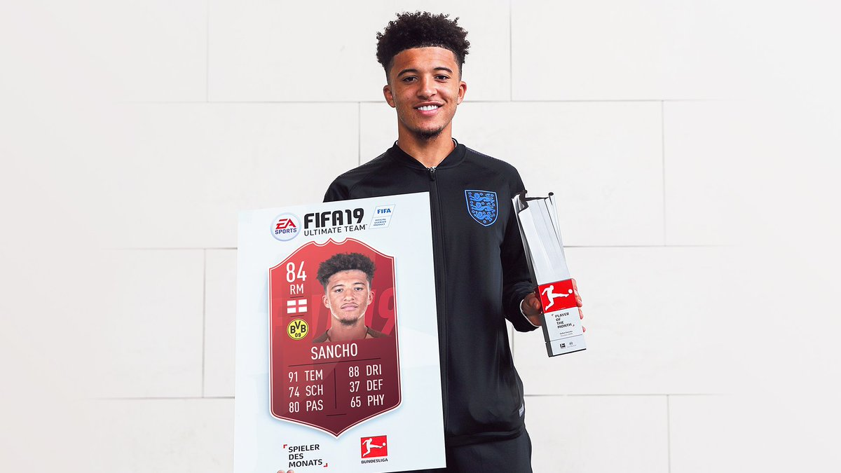 773852641 Sanchooo10 is the  BundesligaPOTM for October! Squad Building Challenge  available now!