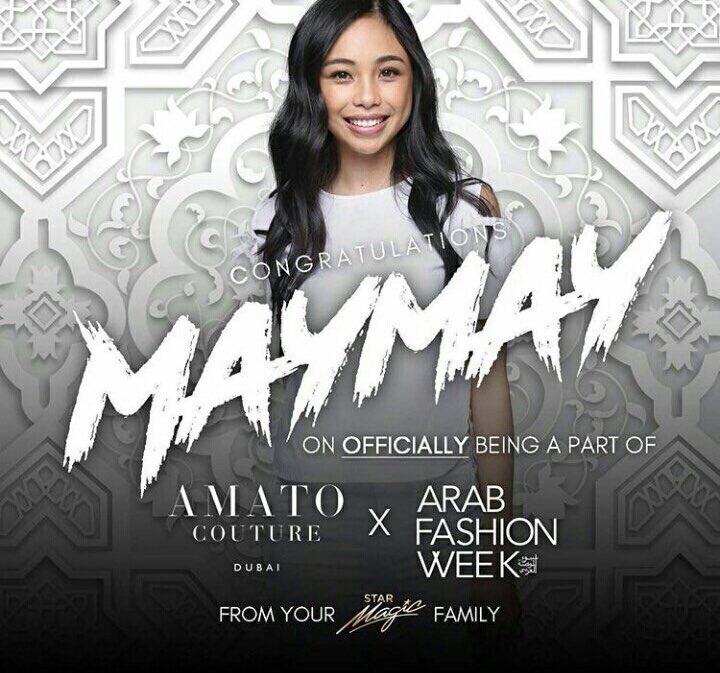 """In the talk show """"I Know Right?!"""", Maymay revealed that she auditioned to be part of the Arab Fashion Week. She is open to do modelling projects in the future. She says her ultimate goal is to make it in international modelling stage.   vi @mjfelipea"""
