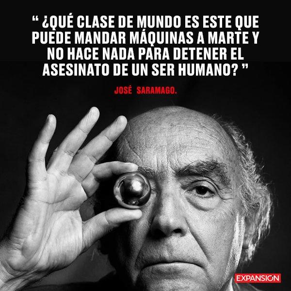 Un día como hoy de 1922 nació José Saramago. Premio Nobel de Literatura en 1998, tuvo una vida cercana a las raíces mexicanas, involucrándose en diversos temas de índole político y social. Lee: Frases de José Saramago para entender su vida y obra 👉 https://t.co/RkNSjYfrZa