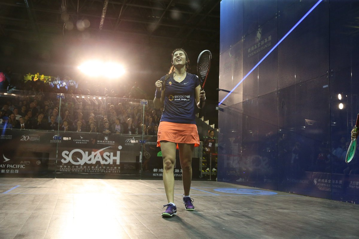 """test Twitter Media - 🗣️ """"I will fight for the spot until the end.""""  @noursherbini ready to fight for World No.1 spot ahead of @HKsquash Open 💪  Read the Egyptian's thoughts here 👇 https://t.co/QRaR1UMTHG #squash https://t.co/oMauaKV5Xo"""