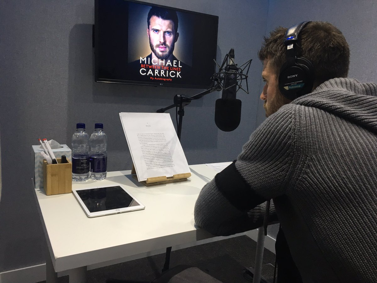 Bit of studio work recording my audio book #OneTake 😉 All proceeds going to charity @_MCFoundation  #MCBetweenTheLines  If you'd rather not listen to me then the book is already out in the shops to buy. 📖