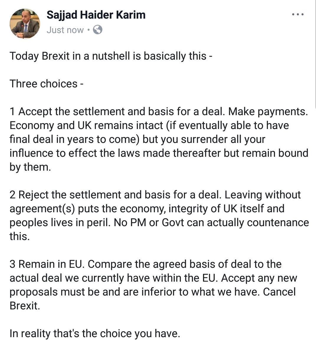 Able Accounts Offer New Choice For >> Sajjad Karim Mep Conservative On Twitter Brexit In A Nutshell 15
