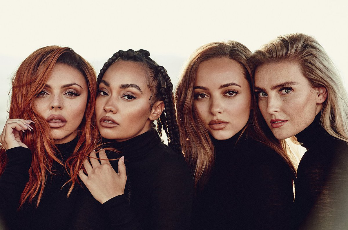 Little Mix on their 'ballsy' new LP, sampling Sisqo & writing feminist anthems: 'We're not scared anymore' https://t.co/6pPP8zaX2s