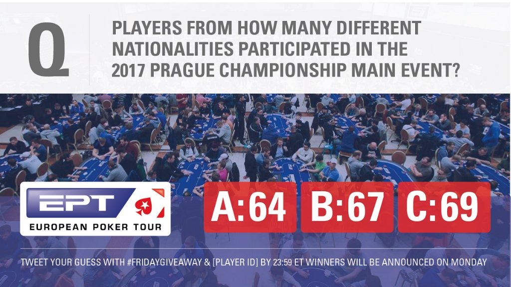 Pokerstars On Twitter Players From Ghana Albania Indonesia And Venezuela Contributed To The 64 Different Nationalities It Was A For Kabaly90 Settecba Niki6a87 Birranemichael And Nutshand You Ll Find An 11 Ticket